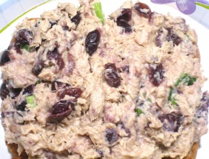 Cranberry Tuna Salad at Create With Joy