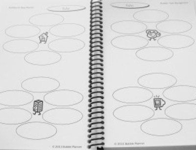 Bubbles For Busy Women Planner - Inside Page