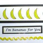 Amber Ink Clean & Simple Card - Bananas For You