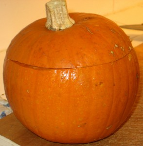 Step 9 - Prepare The Pumpkin