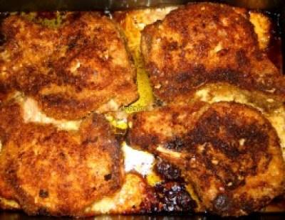 Step 16 - Baked The Pork Chops