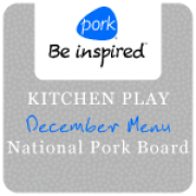 Dec 2011 Kitchen Play - Pork Challenge Badge