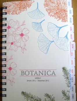 Franklin Covey Planner - Botanika Cover