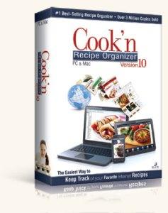 Cook'n Recipe Organizer Version 10