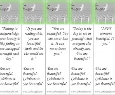 Lydia's See Beautiful Bookmarks