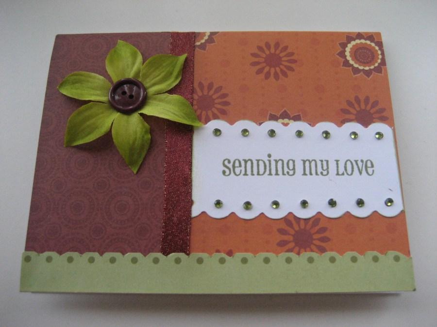 WOYWW - Sending My Love Card | Create With Joy
