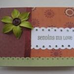 Sending My Love Card