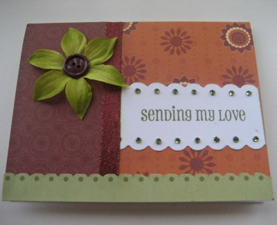 Sending My Love Card