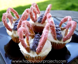 Butterfly Cupcakes - Happy Hour Projects