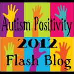 Autism Positivity Flash Blog Button