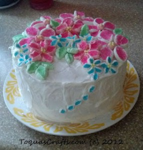 Toquas Crafts - Birthday Cake