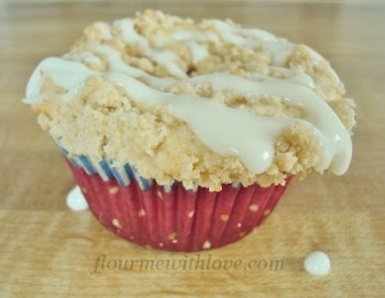 Strawberry Cream Cheese Coffee Cupcake - Flour Me With Love