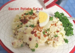 Charlene - A Pinch Of Joy - Bacon Potato Salad