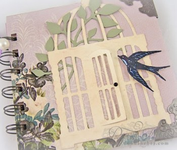 Donna Heber - Birdcage Mini Book