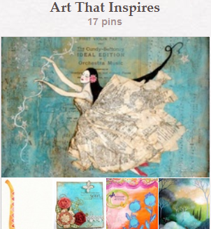 Art That Inspires Pinterest Board
