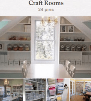 Pinterest - Craft Rooms