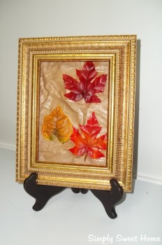 Simply Sweet Home - Mod-Podge-Leaf-Art