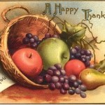 Vintage Thanksviging Postcard