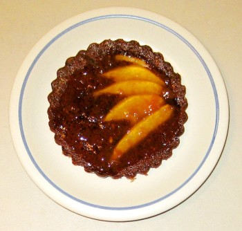 Chocolate Pear Torte
