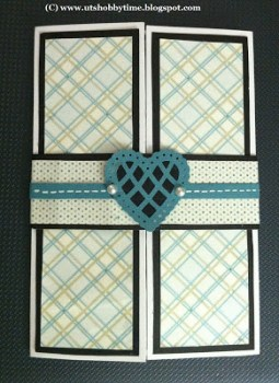 Gate Fold Love Card