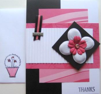 Thanks Card & Envie