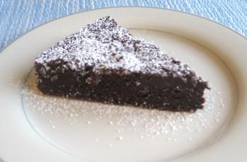 Guinness Brownies - Side