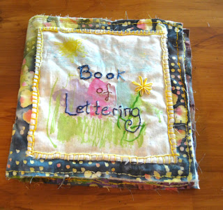 Artful Letter and Stitch Journal
