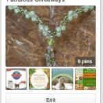 Fabulous Giveaways Pinterest Board