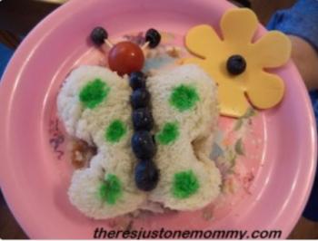 Painted Sandwich - Butterfly