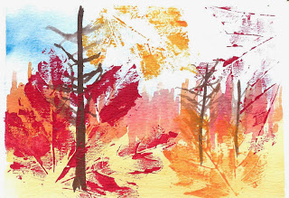 Fall Watercolour