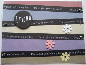 A Card For A Friend