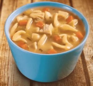 Chicken Soup For The Soul - Chicken Noodle Soup in Bowl