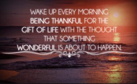 Wake Up Thankful