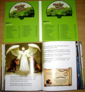 Adventure Bible Storybook Deluxe Edition - Book & Discs
