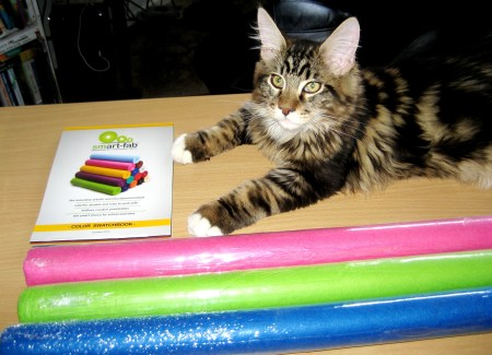 Smart-Fab Samples & Swatch Book - Kitten Not Included
