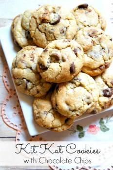 Kit Kat Cookies With Chocolate Chips