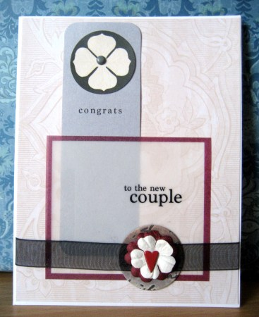To The New Couple Card