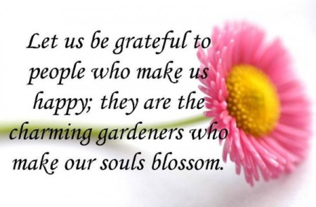 Let Us Be Grateful Quote