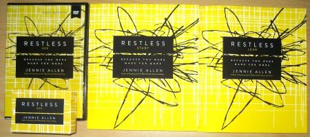 Restless - DVD Study Kit Contents