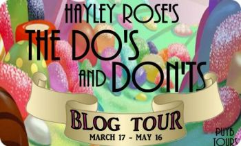 the dos and donts blog tour banner