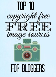 Free Image Sources For Bloggers