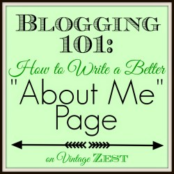 How To Write A Better About Me Page
