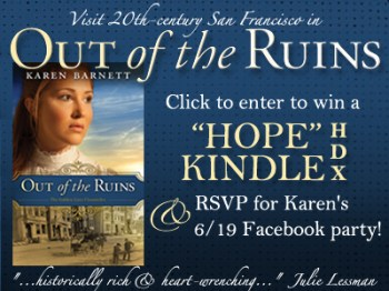 Out Of The Ruins  Giveaway