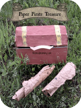 Paper Pirate Treasure