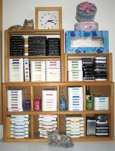 15 - Ink Pad Storage