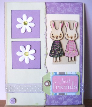 Best Friends Card by Create With Joy