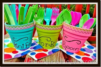 DIY BBQ Utensil Holders