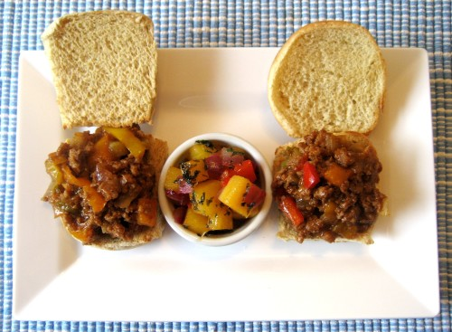 Healthy-BBQ-Sloppy-Joe-Sliders-With-Mango-Salsa-Photo-4-For-Rent.Com