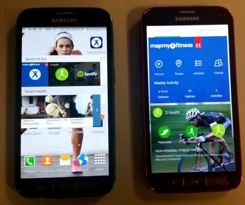 Sprint Fit Live Screens