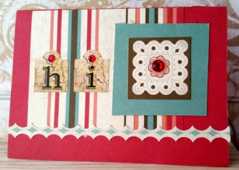 CTMH Perfect Day Card